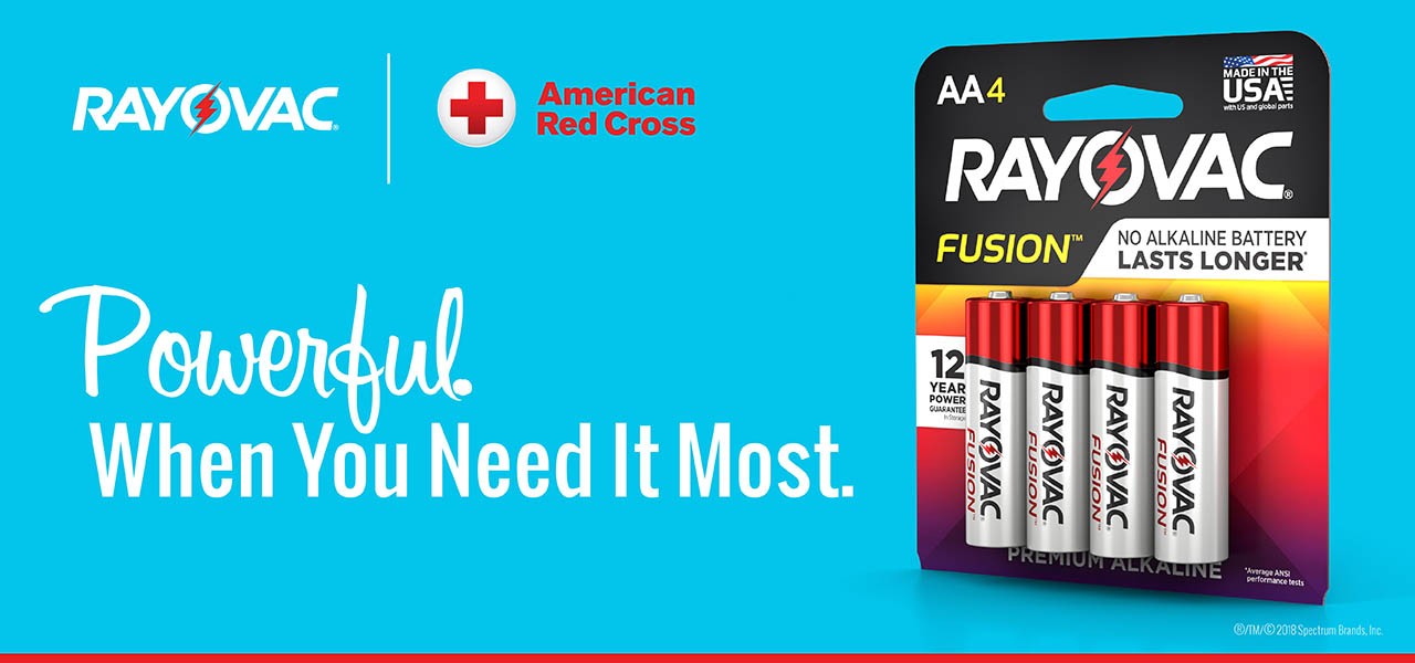 RAYOVAC® and American Red Cross Partnership
