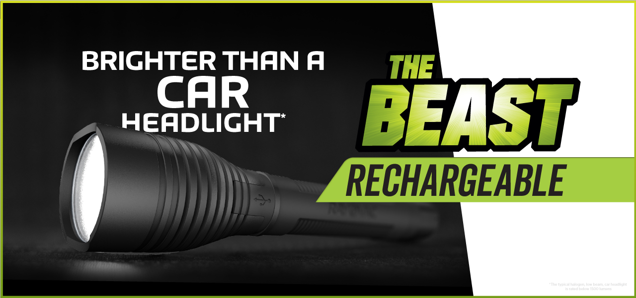 RWP18650B The Beast Car Headlight