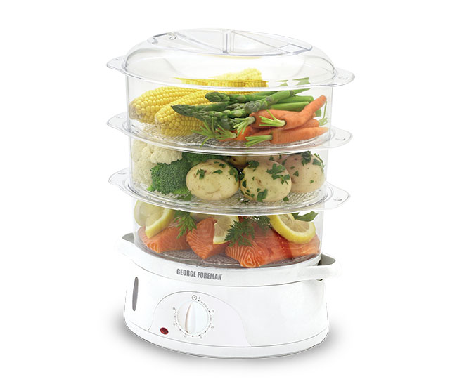 Kitchen Living Food Steamer: George Foreman Australia