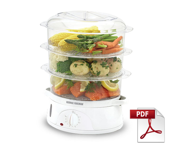 George Foreman Food Steamer Recipes