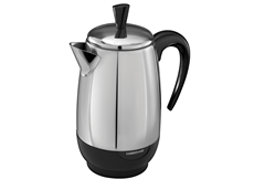 Electric Coffee Percolator 8-Cup Percolator | Farberware Stainless Steel Percolator FCP280