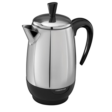 Attention all coffee and tea lovers! We've got the best coffee maker for your needs. Brew coffee or tea in one machine with this coffee and tea maker from Farberware.