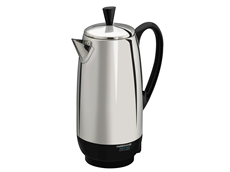Best Coffee Percolator 12-Cup Percolator | Farberware Stainless Steel Percolator FCP412