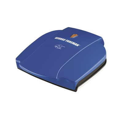 George Foreman GR0036BL Blue Classic Plate Grill