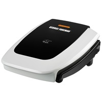 George Foreman Super Champ Power Press Grill GR0060W White Grill Medium Grilling Indoors