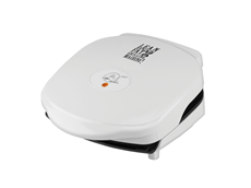 George Foreman Champ Grill GR10WSP1 White Grill Small Grill easy-to-clean Grill