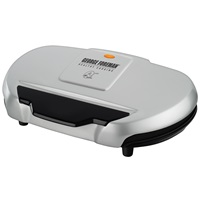 George Foreman Grand Champ Grill GR144 Silver Grill Large Grill Electric Grilling