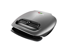 George Foreman 5 Serving 80 Inch Electric Grill | Classic Plate | GR2081HM