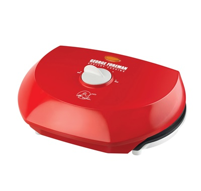 The Super Champ Vari-Temp Grill GR50VR: Enjoy electric grilling indoors with this Medium red grill from George Foreman