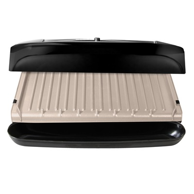 6 serving removable plate grill george foreman - George foreman replacement grill plates ...