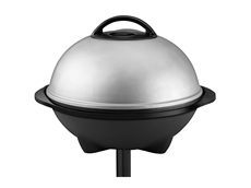 George Foreman 240 Sq. In. Indoor/Outdoor Grill GGR50B Silver Grill Jumbo Grill Patio Grilling