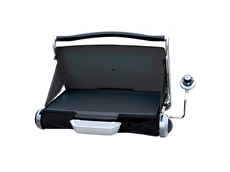 The George Forman Camp and Tailgate Grill - Black