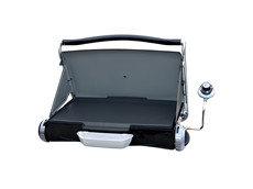 George Foreman Portable Propane Camp & Tailgate Grill - Gun Metal