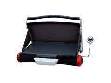 George Foreman Portable Propane Camp & Tailgate Grill - Red