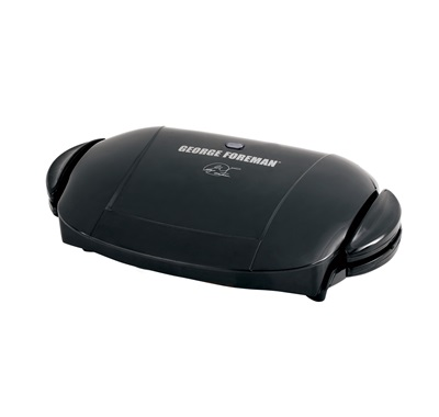 The Next Grilleration GRP0004B: Enjoy delicious grilling right inside your kitchen with this medium black indoor grill from George Foreman