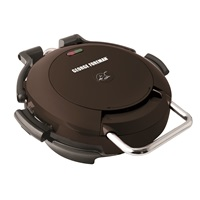 George Foreman 720 Grill Black Grill with Removable plates