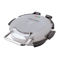 George Foreman 720 Grill Silver Grill with Removable plates