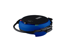 George Foreman 360 Grill GRP106QPGBLQ Blue Grill Silver Grill with Removable plates