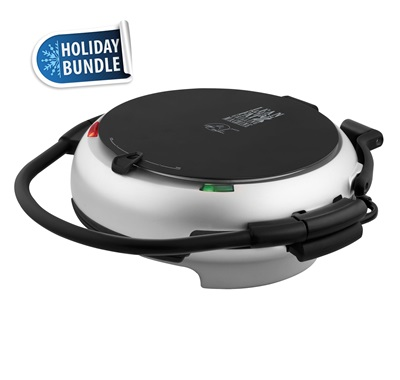 George Foreman Holiday Grill Bundle