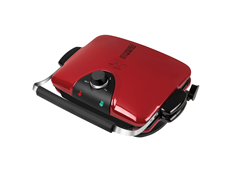 George Foreman 84 Inch Removable Plate Grill GRP92R Red Grill Large Grill Best Grilling