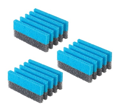 The 3 pack grill cleaning sponges GFSP3: Custom grill cleaning sponges perfect for cleaning a grill from George Foreman