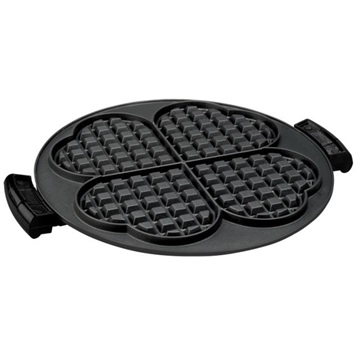 The waffle plate insert for 360 Grill GRP106WP: Turn your grill into a waffle maker with this waffle grill plate from George Foreman