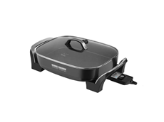 George Foreman SilLite Digital Searing Skillet SK0010B Electric Skillet Healthy Cooking