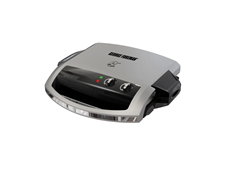 George Foreman 100 Inch Grill and Griddle GR0097P Silver grill large grill and griddle