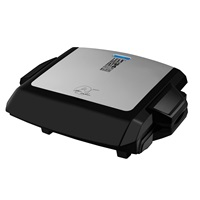 George Foreman Power Grill and Griddle GRP101CTG Silver Grill Large Grill and Griddle