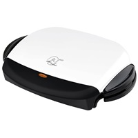 George Foreman The Next Grilleration GRP4 White Grill Medium Grill Removable Grill Plates