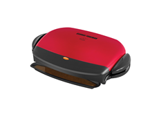 George Foreman 72 Inch Removable plate Grill GRP4RM Red Grill Medium Grill Healthy Grilling