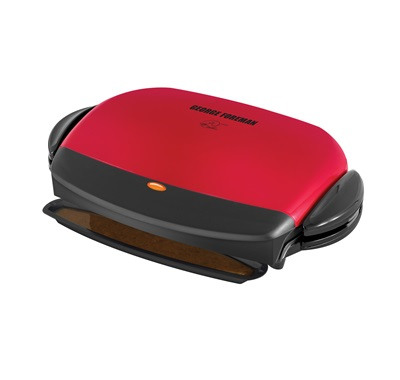 The 72 Inch Removable plate Grill GRP4RM: Enjoy healthy grilling inside with this medium red grill from George Foreman