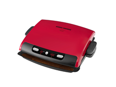 George Foreman 6 Serving Removable Plate Grill GRP95R Red Grill Large Grill Best Grilling