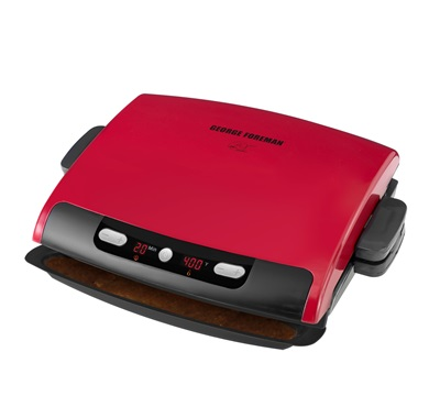 The 100 Inch Removable Plate Grill GRP95R: Get the best grilling experience with this large red grill from George Foreman