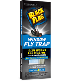 Window Fly Trap Indoor Insect Control Black Flag