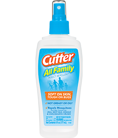 Cutter All Family Insect Repellent Pump Spray