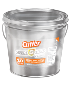Citro Guard Candle (Silver Bucket)
