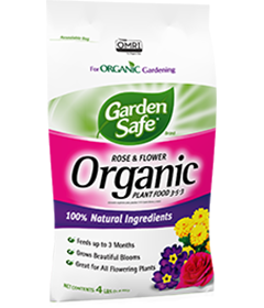 Graden Safe Brand Organic Rose & Flower Plant Food