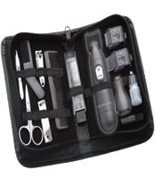 15 Piece Travel Grooming Kit