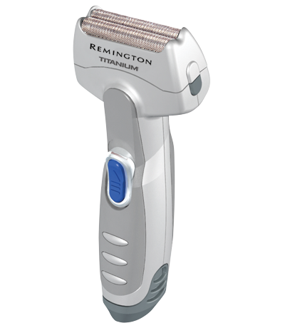 Men's Titanium Battery Operated Foil Travel Shaver