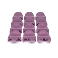 Set of 12 Large Roller Clips for the H9100 Hair Setter
