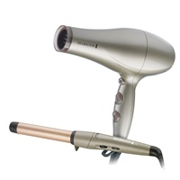 Keratin Therapy Hair Dryer and Curling Wand Set