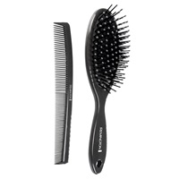 Men's Cushion Brush and Comb Set