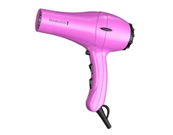 remington orchid silk ceramic hair dryer d2045mdw