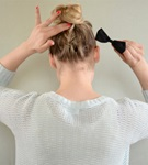 remington braided top knot tutorial blog post