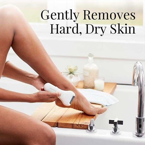 Gently Removes Hard, Dry Skin | SP-CR1B