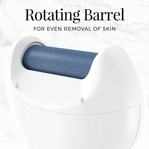 Rotating Barrel for even removal of skin | SP-CR1B