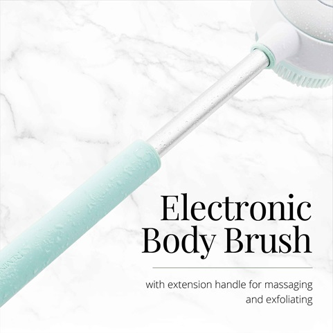 remington reveal rotating body cleansing brush bb1000b