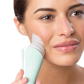 remington reveal facial cleansing brush with waterproof design fc1000