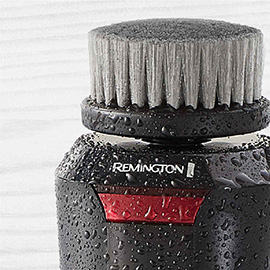 remington reveal mens compact facial cleansing brush with waterproof design fc1500b